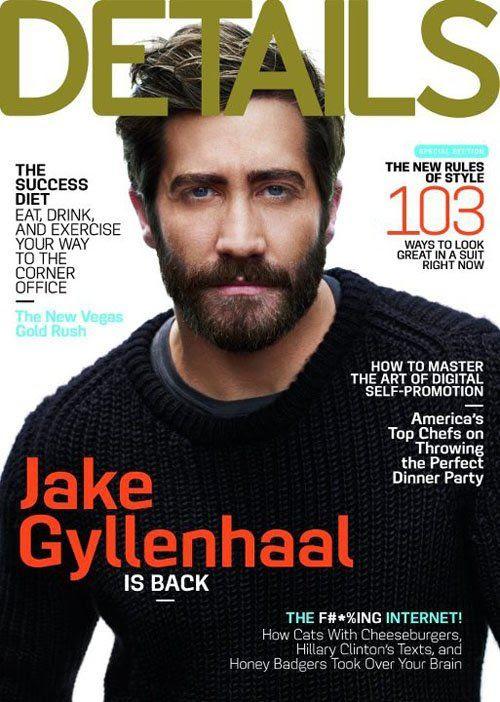Details - September 2012, Jake Gyllenhaal