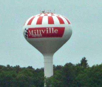 Millville NJ Water Tower