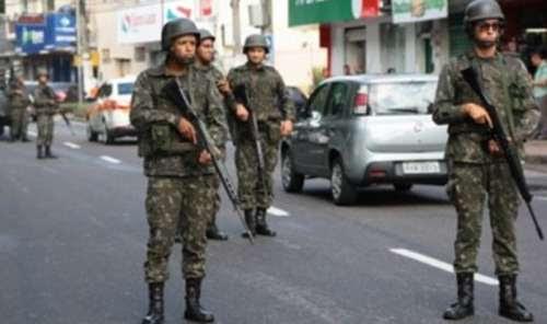 'Seremos intolerantes', diz general do Exército sobre ação de tropas no ES