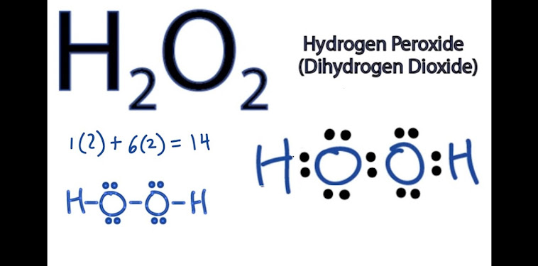 Lewis Electron Dot Structure For H2o2