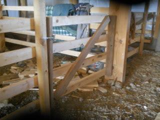 Second Barn Stall Gate Closeup