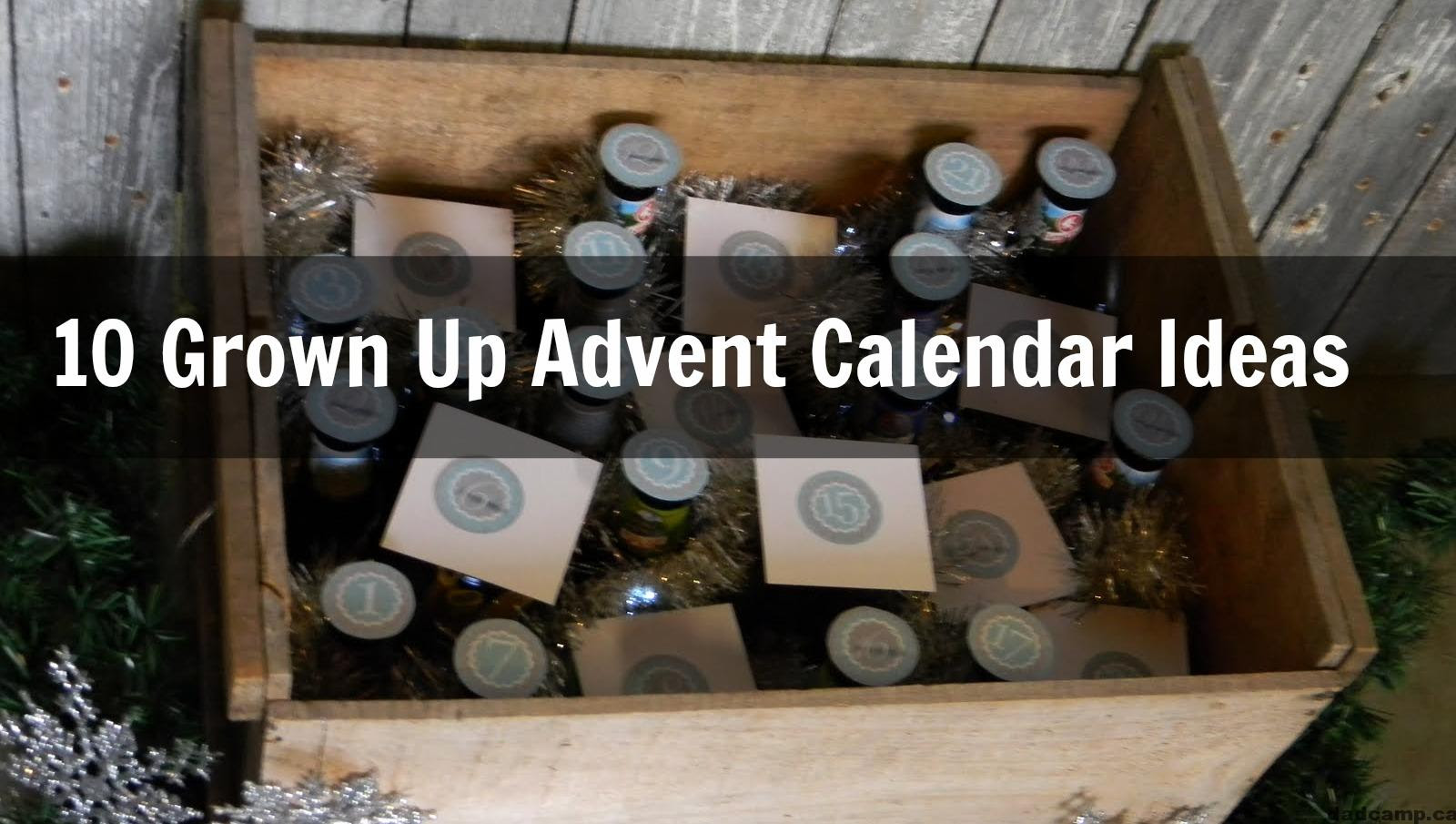 Best List Of Grown Up Advent Calendars