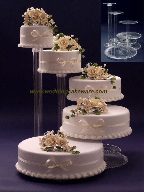 Best 25  Tiered wedding cake stands ideas on Pinterest   4