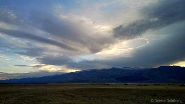 sunset, Death Valley