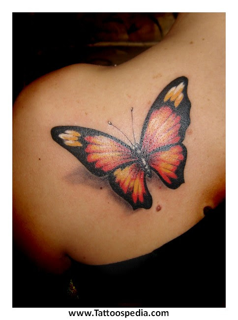 Butterfly Tattoo Designs With Names 1