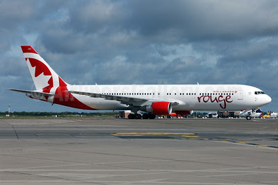 Air Canada rouge (Air Canada) Boeing 767-33A ER C-GHPE (msn 33423) DUB (Greenwing). Image: 912654.