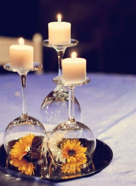 12 wedding centerpiece ideas from pinterest wine glass
