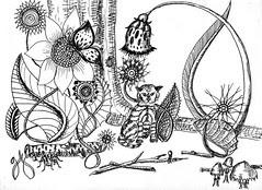 Jungle - drawing