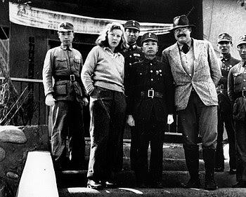 English: Martha Gellhorn and Ernest Hemingway ...