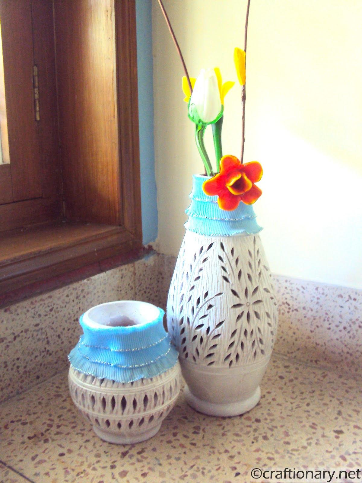 DIY Clay Pots (Decorating Home) - Craftionary