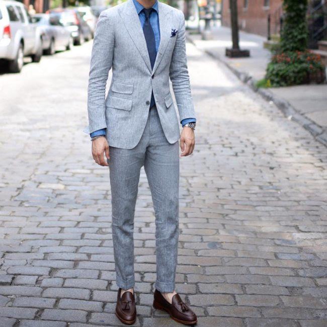 55 Elegant Ways To Style Tassel Loafers - Sophistication ...
