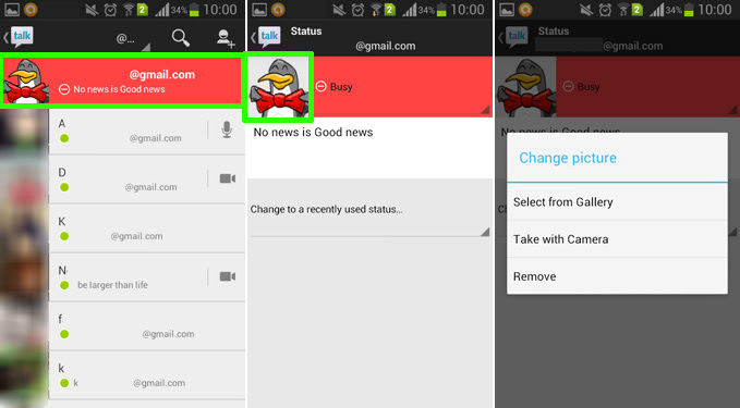 How to Change Profile Picture on Gmail for Android   AW Center