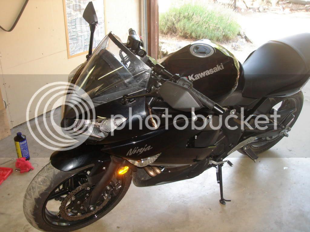 Cut The Windscreen On My 650 Kawasaki Ninja Forum