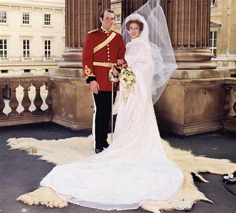 Wedding dress of Princess Anne