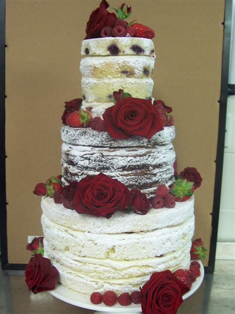 Naked Wedding Cakes West Sussex