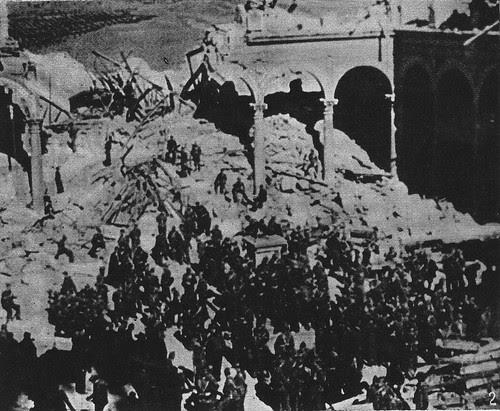 Varela entra con sus tropas en el Alcázar