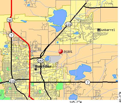 Boulder Colorado Zip Code Map Boulder Co Zip Code Map   Earth Map