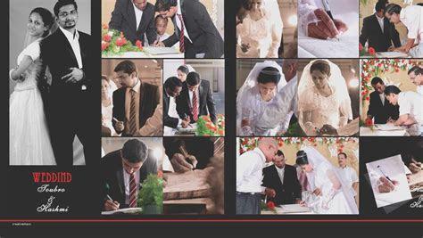 Kerala wedding album design unique toubro & hashmi