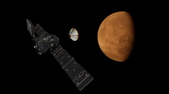 Sonda marciana ruso-europea ExoMars 2016 (ESA).