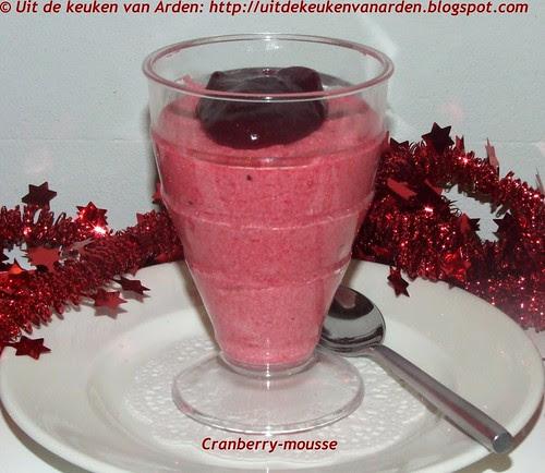 Cranberry-mousse