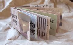 mini moo card book