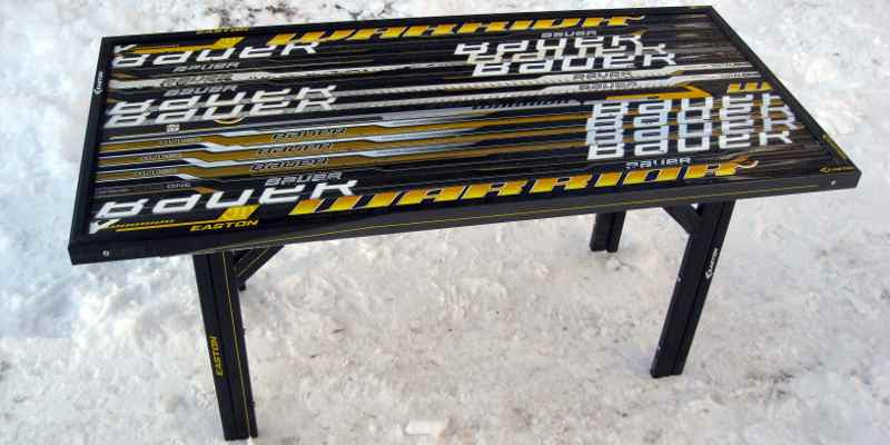 Hockey Stick Builds Building Custom Hockey Stick Furniture And Clocks