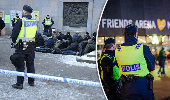 A polícia sueca