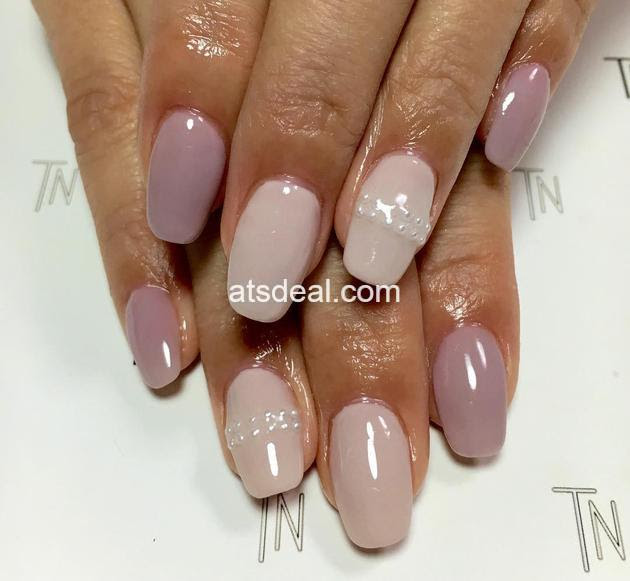 sheer nude nail polish colors