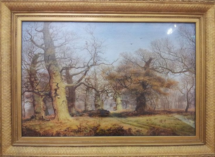 oak trees in sherwood forest 1877 - Google Search
