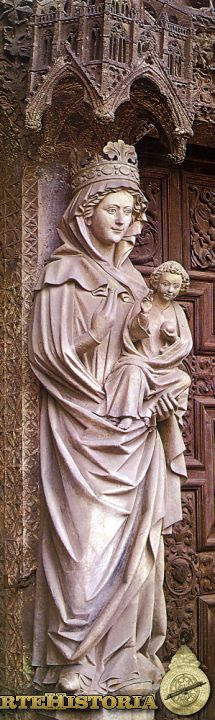 Catedral de León. Nuestra Señora la Blanca - Pulsa para comprar lámina en ALLPOSTERS