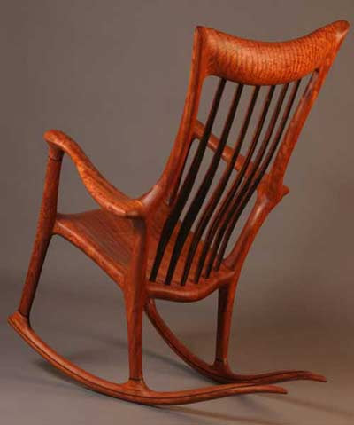 Hand-crafted Wood Rocking Chair | Rocking Chair Pictures