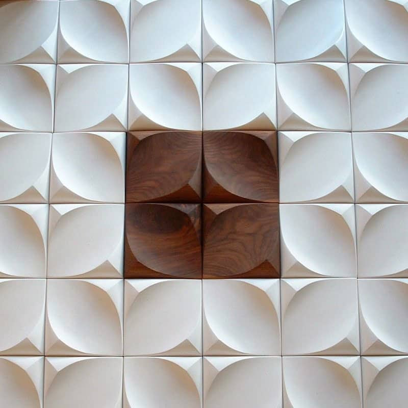 25 Spectacular 3D Wall Tile Designs To Boost Depth and Texture homesthetics ideas (7)