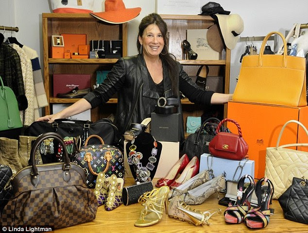 Fortune hunter: Linda Lightman, a 53-year-old top eBay seller who runs the consignment shop Linda's Stuff, makes $25 million in sales a year on the e-commerce website