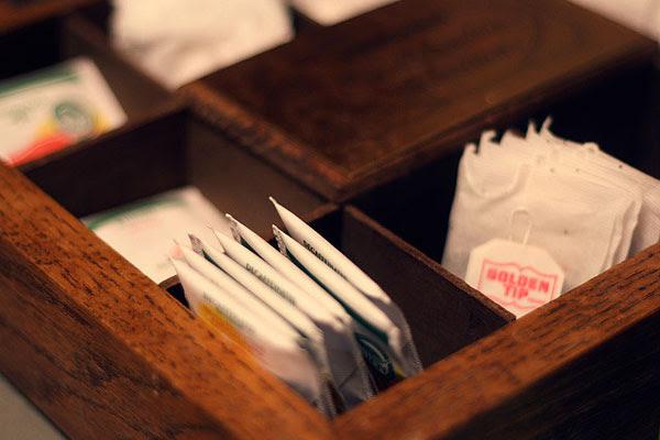 Fraude en las bolsas de té
