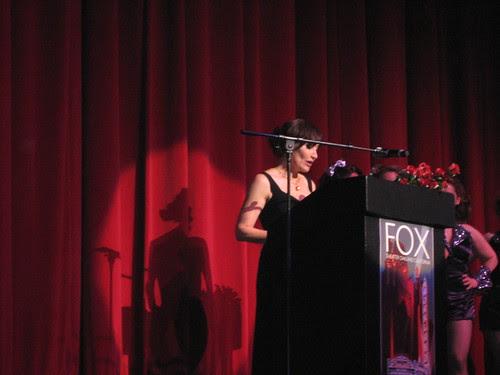 Oakland Fox Gala: Pat Dedekian Thanks People Who Helped Make It Happen
