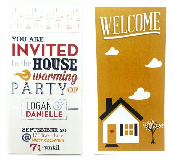 Housewarming Invitation Template - 30+ Free PSD, Vector EPS, AI ...