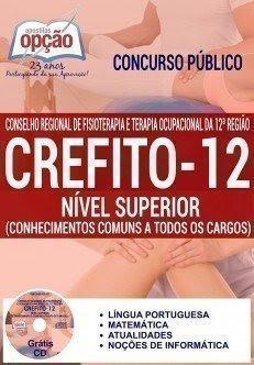 Apostila Crefito/12 Região, NÍVEL SUPERIOR.