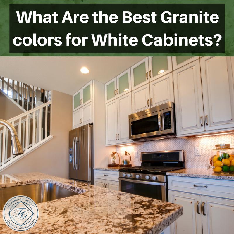 What Are The Best Granite Colors For White Cabinets Flemington Granite