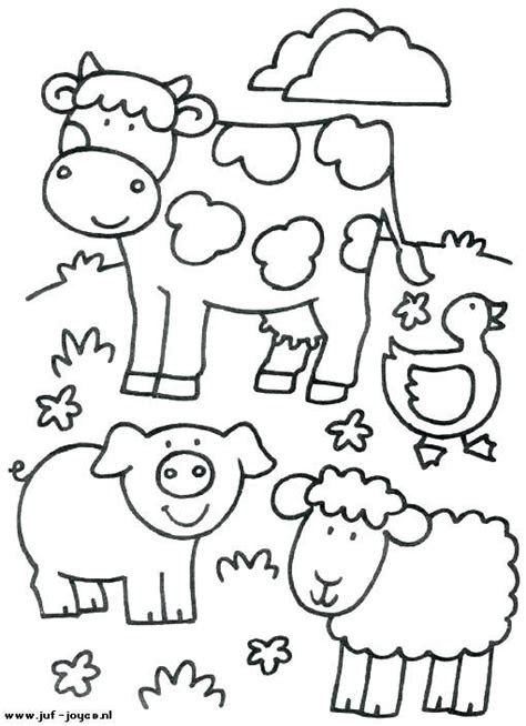 image result  farm animal coloring pages  toddlers