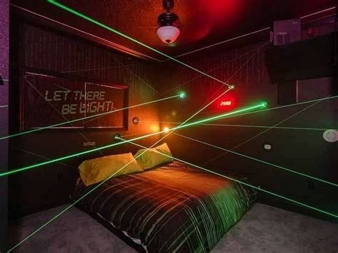 play  laser maze  great escape parkside vacation