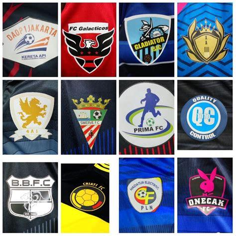 jual logo tim futsalbola design sendiri buat setelan