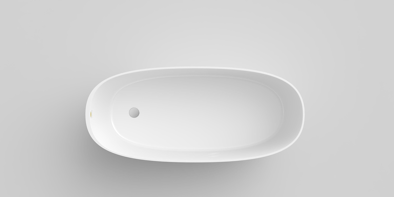 Vasca da bagno centro stanza in materiale composito ...