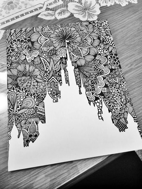 Absolutely Beautiful Zentangle patterns For Many Use (11)