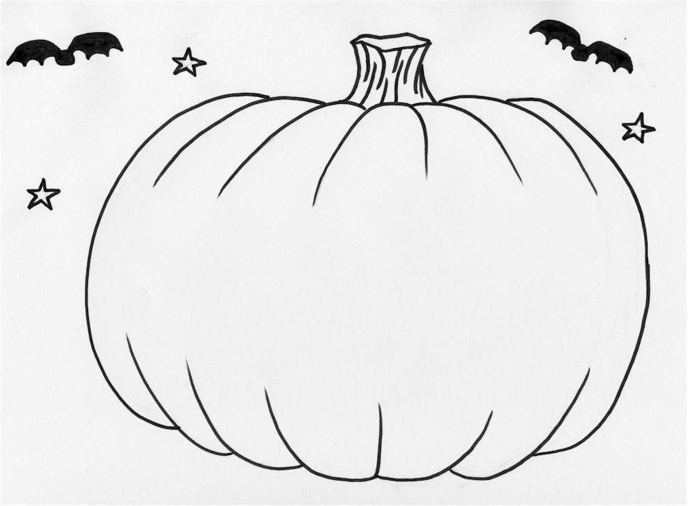 Pumpkin Drawing Template at GetDrawings   Free download