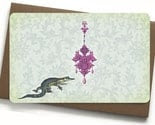 The jewel of the Nile - set of 4 funky notecards