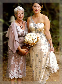 tall mother of the bride beach wedding dress | ... Bodice Knee ...