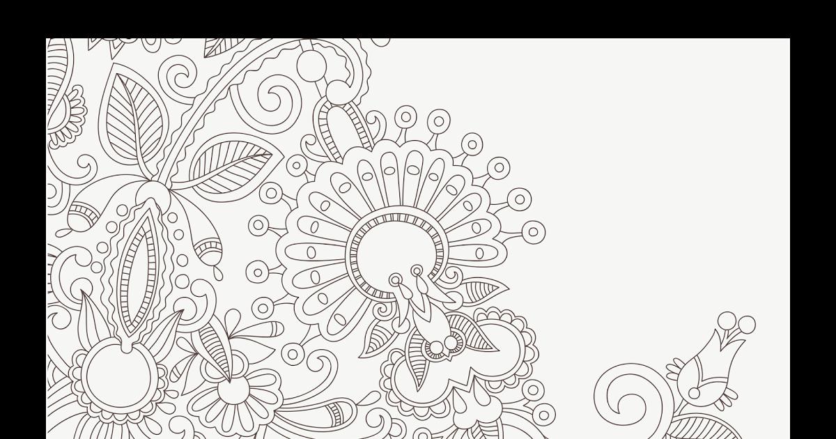 Batik Background Putih - Batik Menia