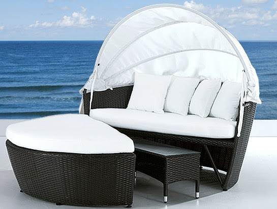 Wicker Patio Furniture - modern - outdoor chaise lounges - toronto ...