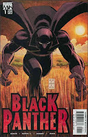 Black Panther Issue #1 Cover Artwork by John Romita, Jr.