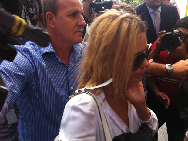 Carolina vai depor sobre as fotos que vazaram na web (Foto: Janaína Ferreira/G1)